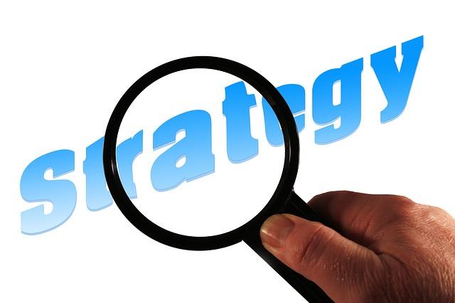 hledání vhodné strategie