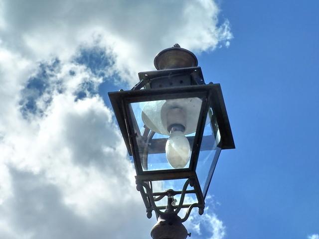 rtuťová výbojka ve veřejném osvětlení