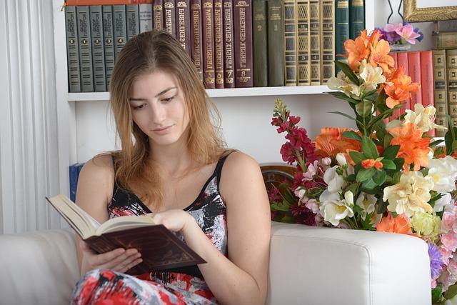 Odpočinek u napínavé knihy