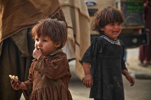 chudé děti